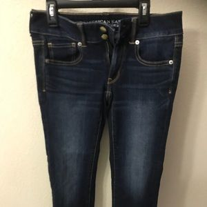 Women's American Eagle Super Stretch Jeans Sz 2